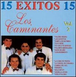 15 Éxitos Vol. 2 (Los Caminantes album) - Image: Album Cover Los Caminantes 15 Exitos, Vol. 2