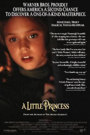 A Little Princess (1995 film) - Theatrical release poster