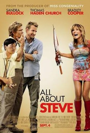 All About Steve - Theatrical release poster