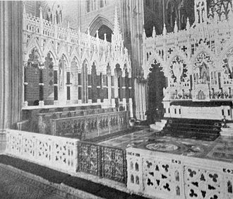 St Patrick's Cathedral, Armagh (Roman Catholic) - Ashlin's altar screens, 1904