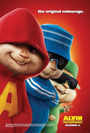 Alvin and the Chipmunks (film) - Theatrical release poster
