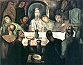 André Derain, 1911, The Last Supper, oil on canvas, 227.3 x 288.3 cm, Art Institute of Chicago.jpg