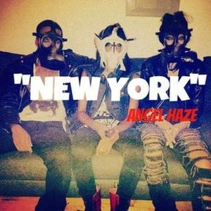 New York (Angel Haze song) - Image: Angel Haze New York Single