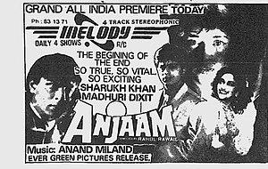 Anjaam - Film poster