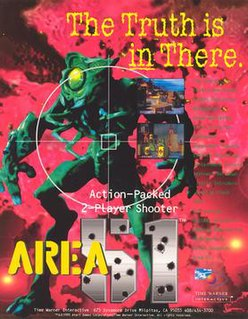 <i>Area 51</i> (1995 video game) 1996 video game