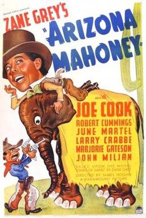 Arizona Mahoney - Theatrical release poster