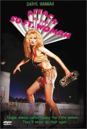 Attack of the 50 Ft. Woman (1993 film) - DVD cover