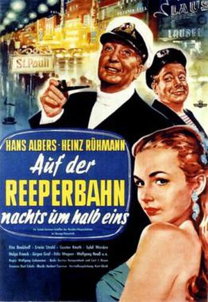 On the Reeperbahn at Half Past Midnight (1954 film) - Image: Auf der Reeperbahn nachts um halb eins (1954 film)
