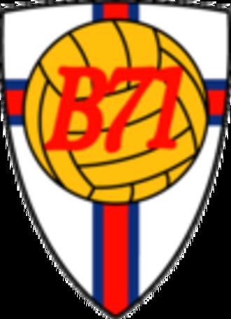 B71 Sandoy - Image: B71 Sandur