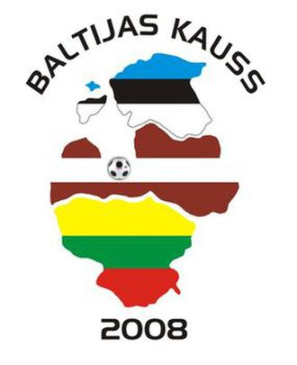 2008 Baltic Cup - Image: Baltic Cup 2008 official logo