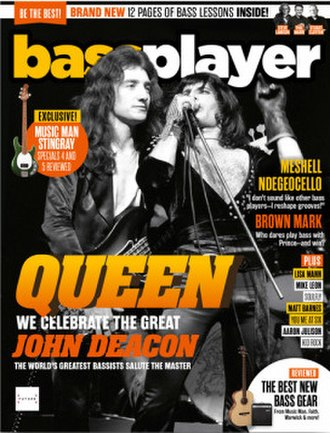 Bass Player (magazine) - Image: Bass Player December 2018 cover