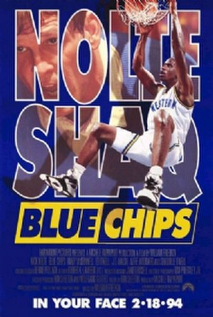 Blue Chips - Theatrical release poster