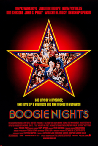 Boogie Nights - Theatrical release poster