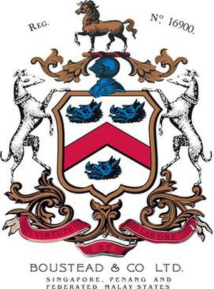 Edward Boustead - The old Boustead logo represented Boustead offices in Singapore and Malaysia.