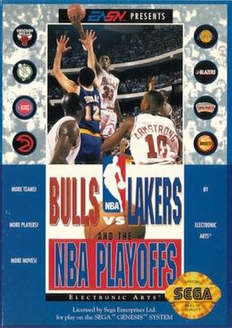 Bulls vs Lakers and the NBA Playoffs - North American cover art