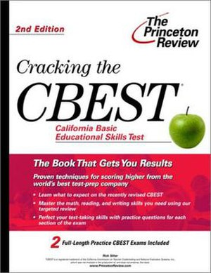 California Basic Educational Skills Test - One of the books designed to help individuals review for the test.