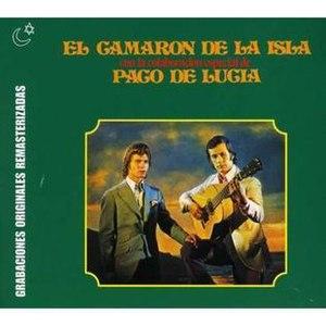 Camarón de la Isla - Cover for a Camarón de la Isla and Paco de Lucía album.