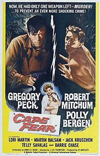 <i>Cape Fear</i> (1962 film) 1962 film