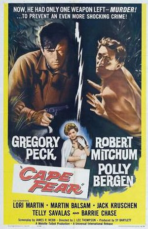 Cape Fear (1962 film) - Cape Fear movie poster
