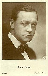 Carlo Wieth Danish actor