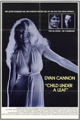 Child Under a Leaf - Theatrical release poster