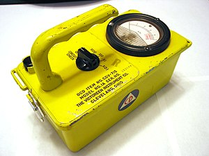 Civil defense Geiger counters - An example of the CDV-715 survey meter.