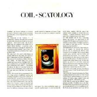 Scatology (album) - Image: Coilscatology