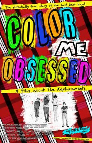 Color Me Obsessed - Image: Color Me Obsessed Poster