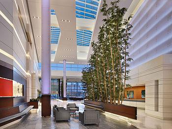 Cooper University Hospital's lobby