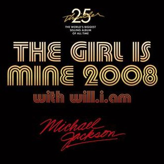 The Girl Is Mine - Image: Cover thegirlismine 2008