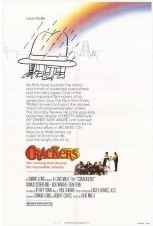 Crackers (1984 film) - Theatrical Poster