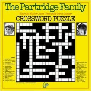 Crossword Puzzle - Image: Crossword Puzzle The Partridge Family