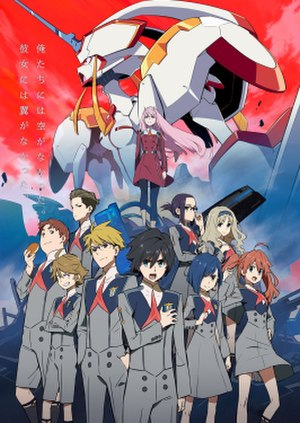 Darling in the Franxx - Key visual