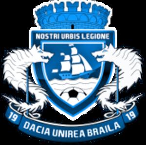 ACS Dacia Unirea Brăila - Image: Dacia Unirea logo