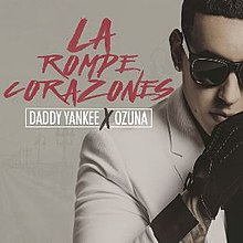 Daddy Yankee Feat. Ozuna - La Rompe Corazones (Official Single Cover).jpg