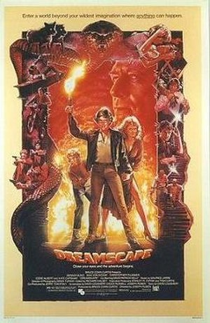 Dreamscape (1984 film) - Theatrical release poster by Drew Struzan