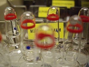 Anaesthetic technician - Drug ampoules contain small amounts of medications.