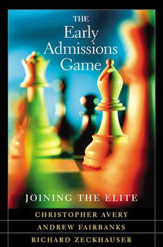 The Early Admissions Game - Image: Early admissions game cover