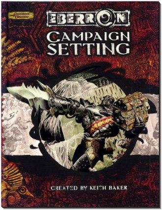 Eberron - Eberron Campaign Setting book cover