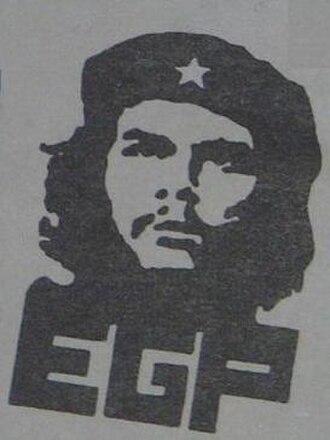 Guatemalan National Revolutionary Unity - Image: Ejército Guerrillero de los Pobres (emblem)