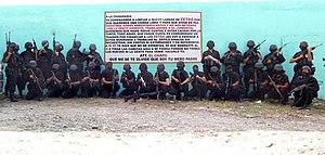 2012 Nuevo Laredo massacres - Image: El Chapo Guzman gunmen