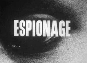 Espionage (TV series) - 1963 title screenshot.