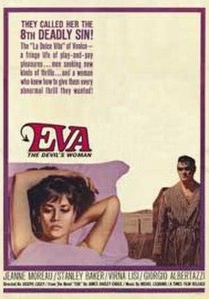 Eva (1962 film) - Original film poster