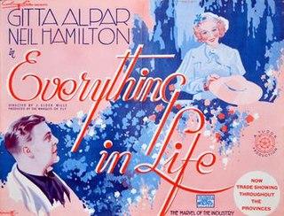 <i>Everything in Life</i> 1936 film by J. Elder Wills