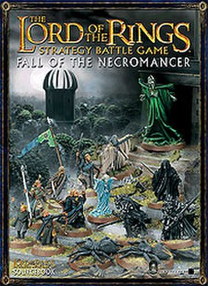 Dol Guldur - Book cover: Fall of the Necromancer