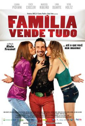 Família Vende Tudo - Theatrical release poster