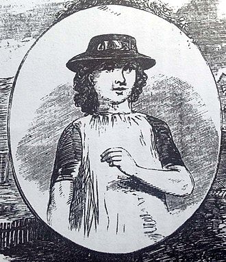 Fanny Adams - Portrait of Fanny Adams by Illustrated Police News