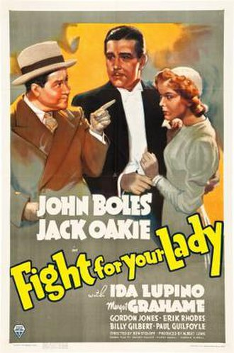 Fight for Your Lady - Theatrical release poster