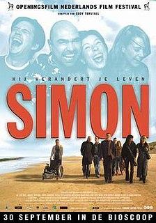 <i>Simon</i> (2004 film) 2004 Dutch drama film directed by Eddy Terstall