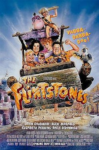 The Flintstones (film) - Theatrical release poster by Drew Struzan
